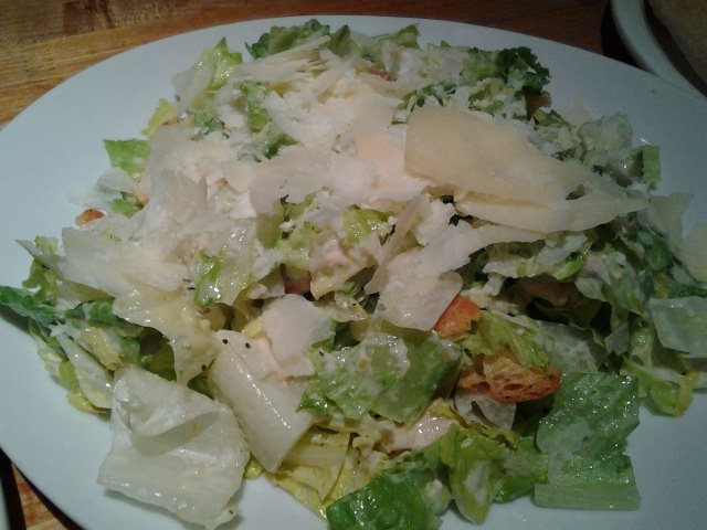 California Pizza Kitchen Caesar Salad at The Mirage