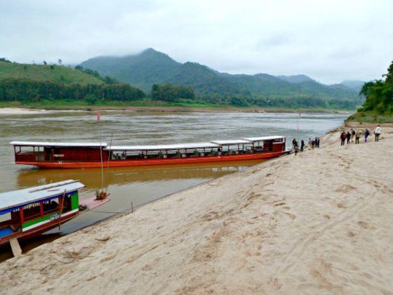 Luang Say Mekong Boat
