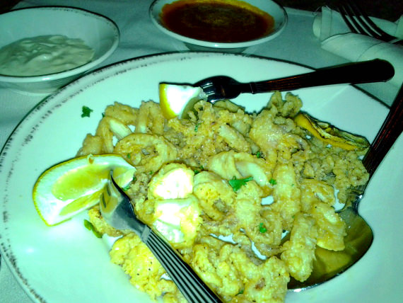 Calamari Appetizer at Cucina Rustica in Oak Creek, Arizona