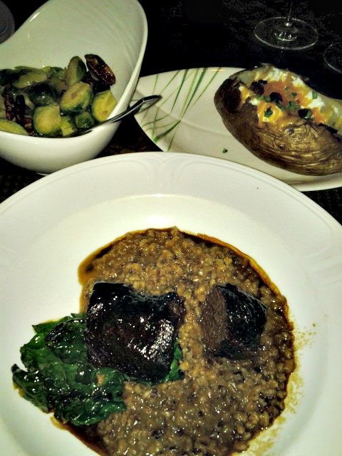 Cocoa Short Rib and Barley at Bimini Steakhouse