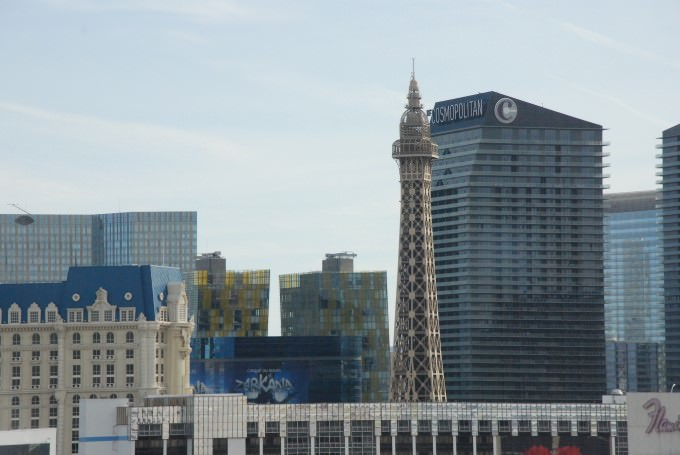 Views of Las Vegas from the High Roller
