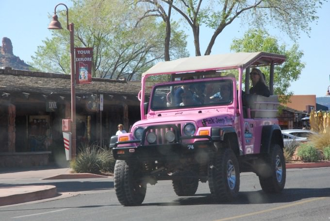 Pink Jeep Tours in Sedona