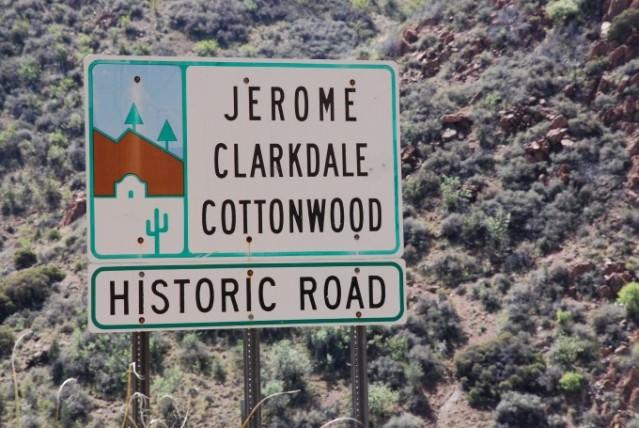 Jerome, Clarkdale, Cottonwood Historic Road
