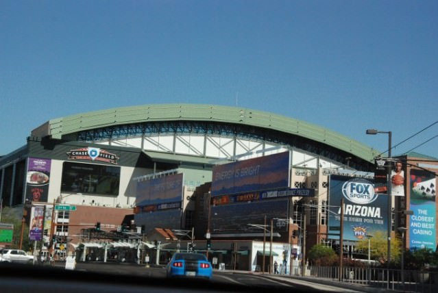 Chase Field in Tempe