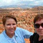 Jill and Viv at Bryce National Park