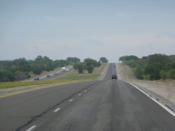 Driving US-10 in Texas
