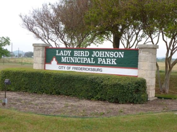 Lady Bird Johnson Municipal Park in Fredericksburg