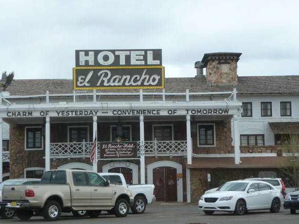 Hotel el Rancho in Gallup, New Mexico