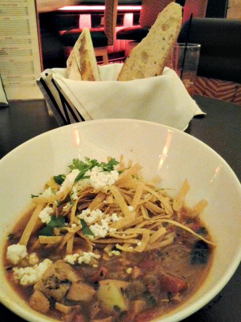 Tortilla Soup at Biscotti