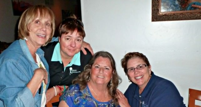 Dinner at Guiseppe's in Tucson with friends Jan and Sandy