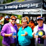 Viv and Jill with Karol Cameron, Owner of Sunriver Brewing Company