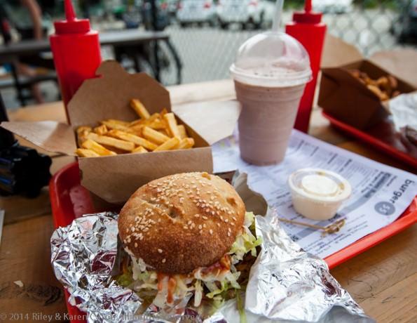 Burger 55 in Penticton, BC, Canada
