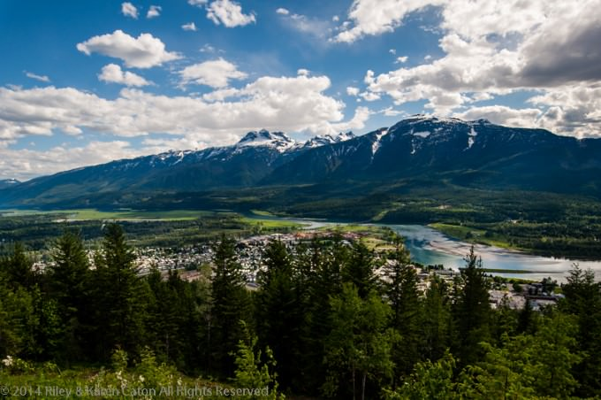 Exploring Revelstoke in British Columbia, Canada