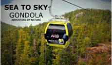 Sea to Sky Gondola in Squamish, BC, Canada