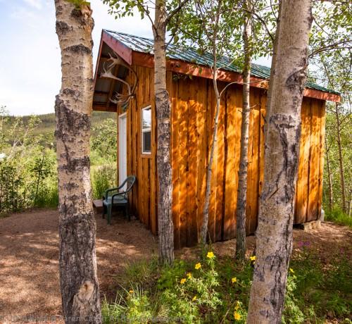 Rustic but modern cabin