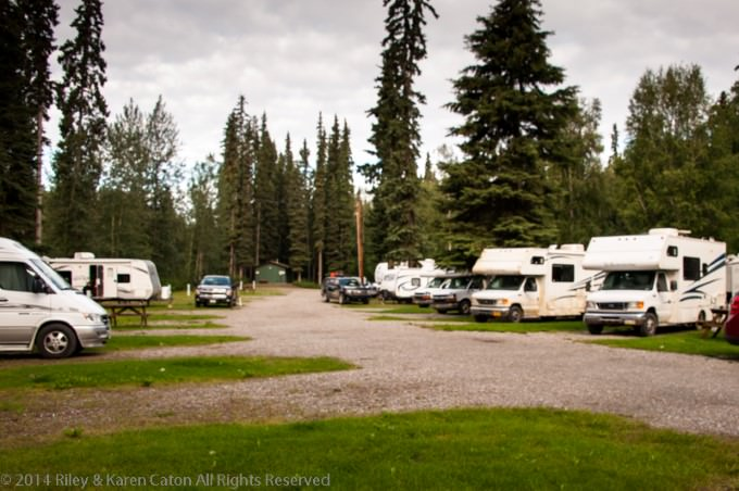Riverview RV Park and QuickStop in North Pole