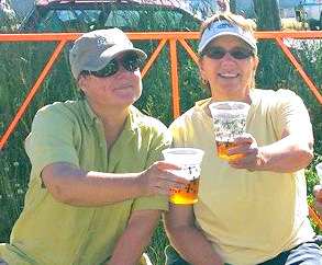 Viv and Jill - Cheers to Summer!