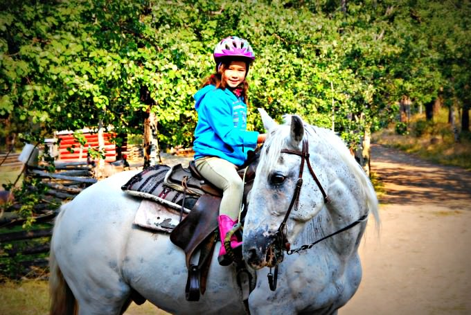 Jada Riding Monty at The Hills Health Ranch