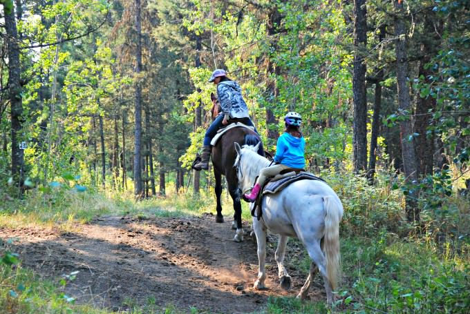 Last Trail Ride at The Hills Health Ranch for Jada