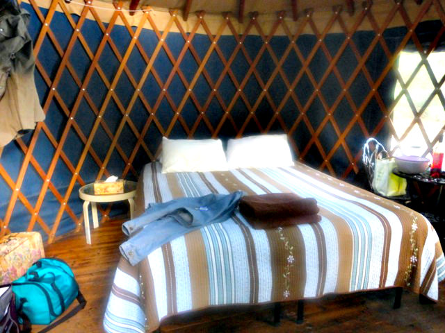 Yurt at Doe Bay Resort on Orcas Island