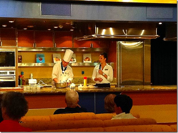 Cooking Show in Culinary Arts Center