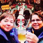 Viv and Jill in Nuremberg with Viking River Cruises
