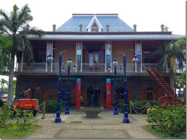 Blue Penny Museum in Mauritius