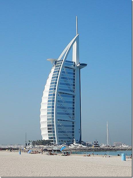 Burj Al Arab Hotel in Dubai