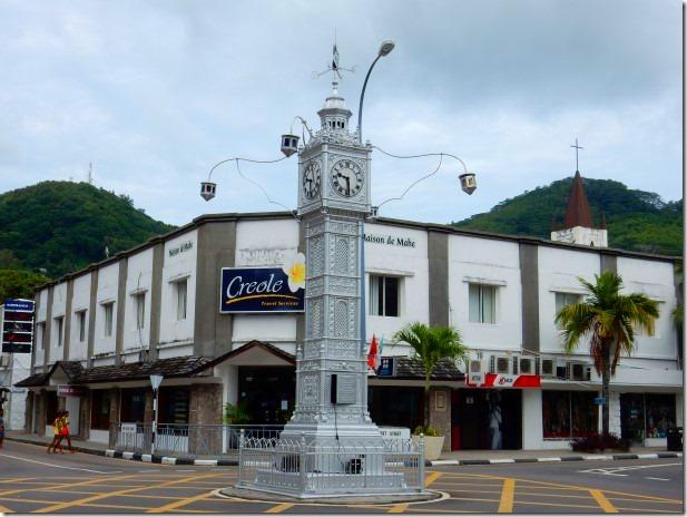 Clock Tower in Victoria, Seychelles