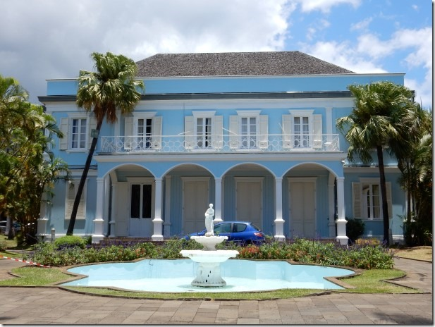 Colonial Mansion in Saint-Denis, Reunion