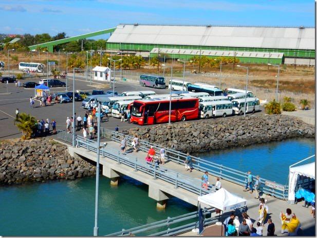 Cruise Ship Docking in Mauritius