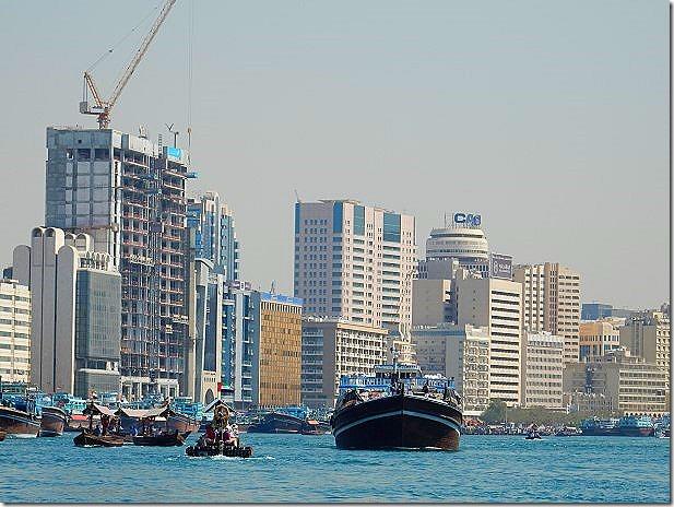 Dubai and Dubai Creek