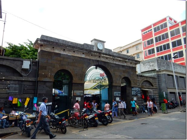 Entrance to Port Louis Central Market
