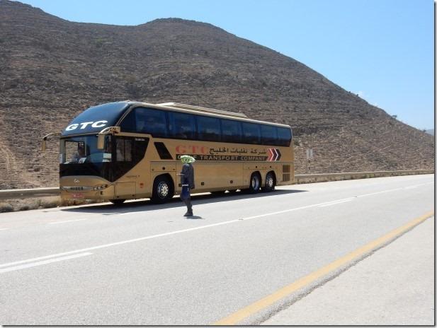 Excursion Bus on Road to Yemen