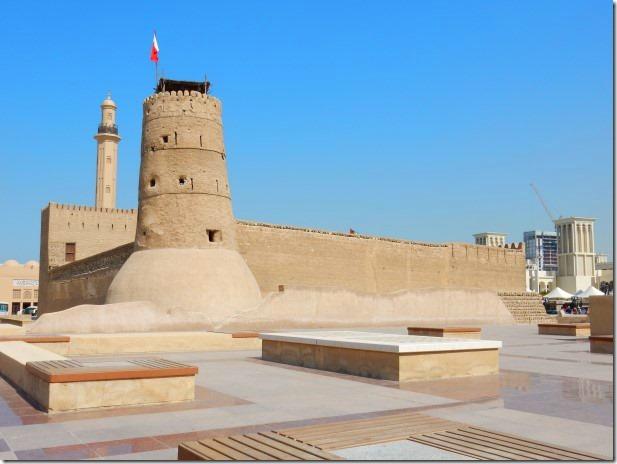 Fort at Dubai Museum