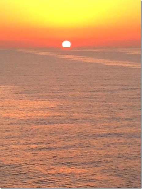 Glorious Sunset on the Gulf of Oman