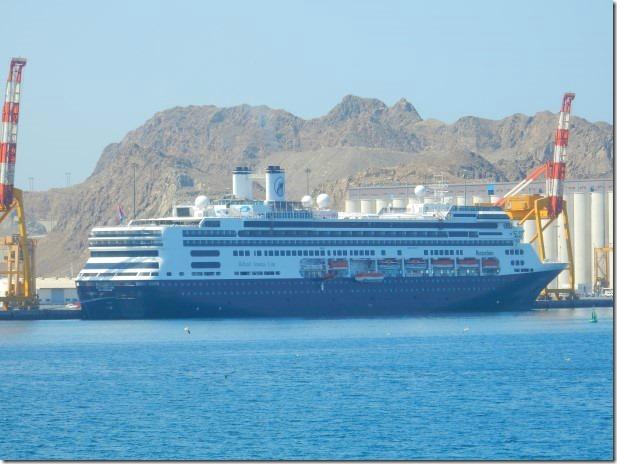 Holland America Line ms Rotterdam in Muscat, Oman