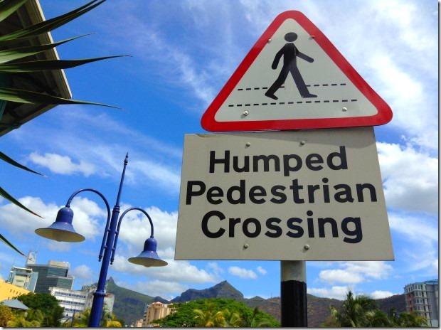 Humped Pedestrian Crossing