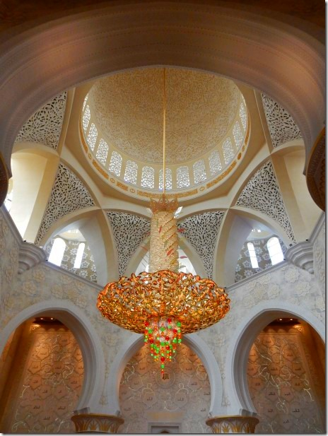 Interior of Mosque - Sheik Zayad Grand Mosque