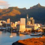 Mauritius Port Louis Skyline