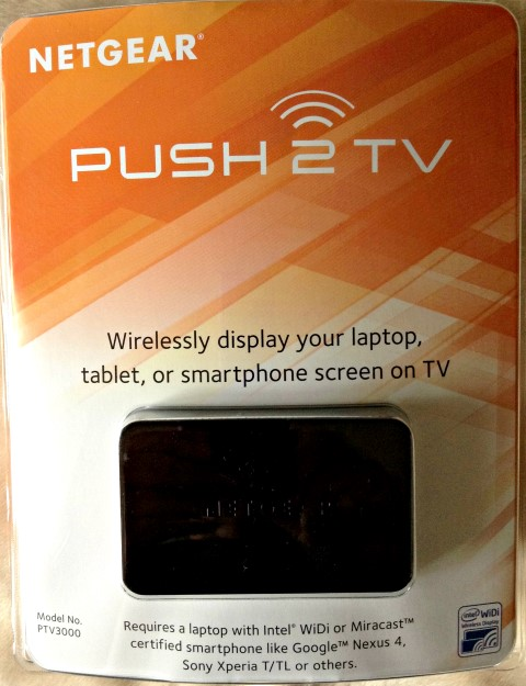 Netgear Push2TV Packaging