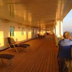 Promenade Deck on ms Rotterdam