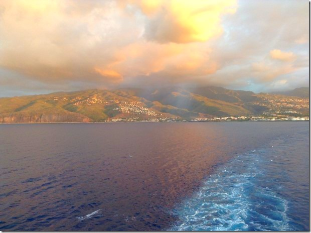 Sail Away from La Possession, Reunion