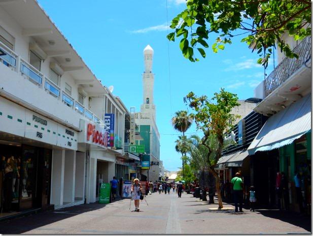 Saint Denis on Reunion Island