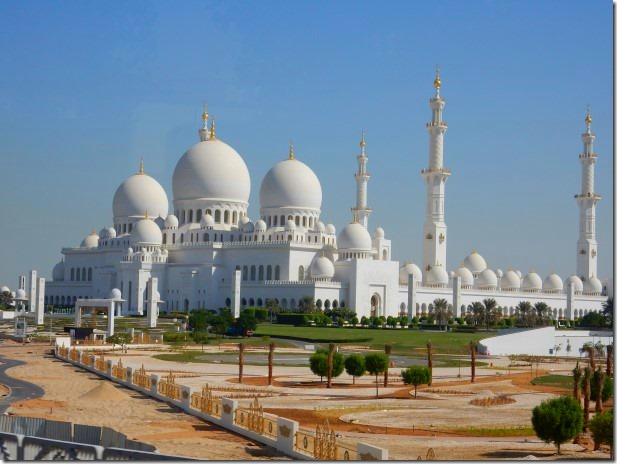 Sheik Zayad Grand Mosque - there are 82 domes