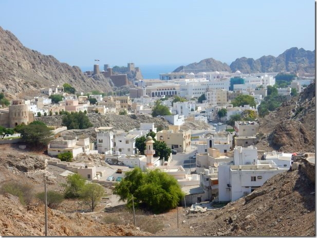 View of Muscat and Fort