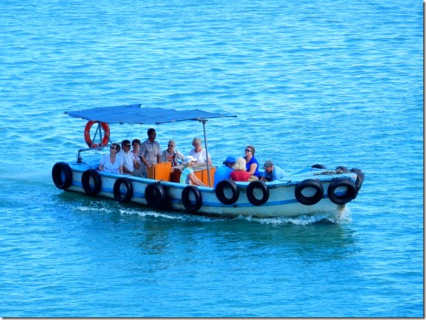 Water taxi in Port Louis