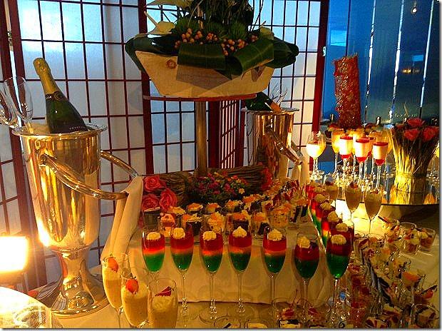 ms Rotterdam Lido Restaurant - Desserts at the lunch buffet