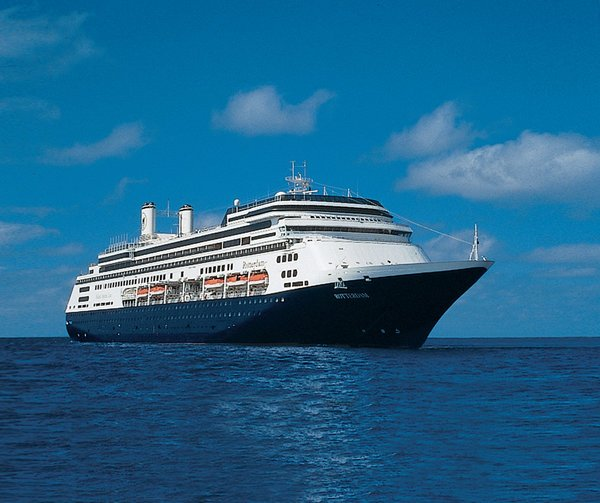 Holland America Line ms Rotterdam. (image courtesy of Holland America Line)