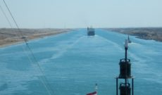 Day 17: Sailing the Suez Canal on Holland America ms Rotterdam